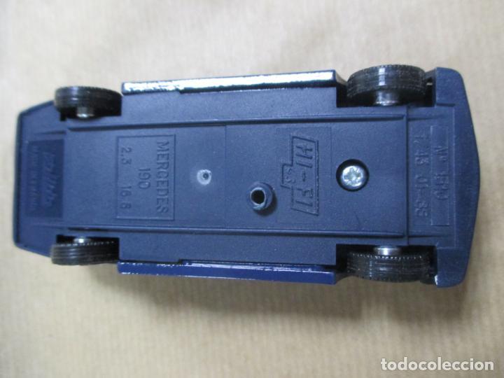 Coches a escala: ANTIGUO COCHE DE METAL. MERCEDES 190 2.3 16 S. N1 1510. 01 - 88. 68 GRAMOS 10 CM - Foto 6 - 136668694