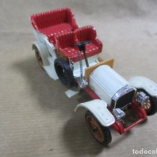 Coches a escala: ANTIGUO COCHE DE METAL. MERCEDES 1906. RIO. MADE IN ITALY. 65 GRAMOS 10 CM. Lote 136668950
