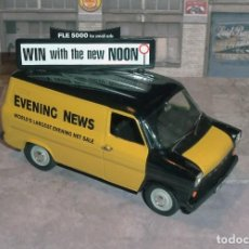 Coches a escala: FURGONETA FORD TRANSIT (EVENING NEWS) - LLEDO VANGUARDS 1/43. Lote 137104790