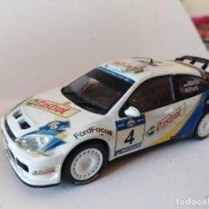 Coches a escala: COCHE RALLY ESCALA 1/43 FORD FOCUS RS WRC. Lote 137297486
