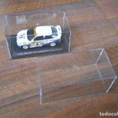 Model Cars - TAPA CAJA URNA METACRILATO COCHES 1/43 1:43 COLECCIONES RBA LE MANS RALLYE 13 X 6 X 6.5 CMS cajas ta - 146637564