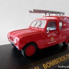 Coches a escala: RENAULT 4 L BOMBEROS NIZA 1965-1/43. Lote 137750454