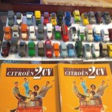 Coches a escala: LOTE DE 40 2CV + 2 LIBROS. Lote 137768477