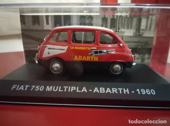 FIAT 750 MULTIPLA - ABARTH. 1960. 1:43 (Juguetes - Coches a Escala 1:43 Otras Marcas)