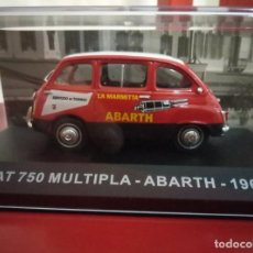 Coches a escala: FIAT 750 MULTIPLA - ABARTH. 1960. 1:43. Lote 195347075