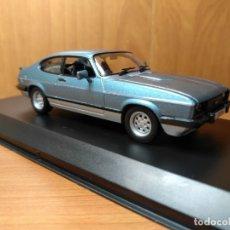 Coches a escala: FORD CAPRI MK3 1982 ESCALA1:43 GTI COLLECTION, BICOLOR, NUEVO. Lote 129565799
