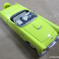 Coches a escala: ANTIGUO COCHE DE METAL. FORD THUNDERBIRD 56 MADE IN CHINA. 11 CM. Lote 138532710