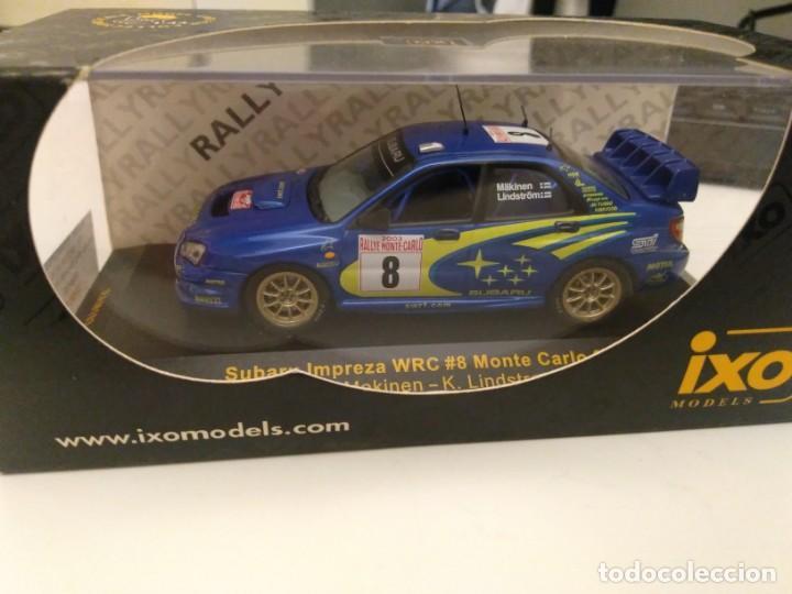 SUBARU IMPREZA WRC RALLY MONTE CARLO (Juguetes - Coches a Escala 1:43 Otras Marcas)