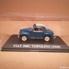 Coches a escala: FIAT 500C TOPOLINO (1949). Lote 140537110