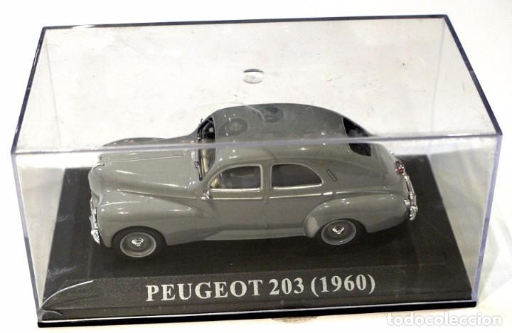 Coches a escala: * PEUGEOT 203 (1960) , 1:43, Altaya , NUEVO - Foto 2 - 140772954