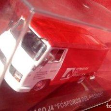 Model Cars - SAVA PEGASO J4 FOSFOROS DEL PIRINEO, COLECCION FURGONETAS DE PUBLICIDAD, ESCALA 1/43, ALTAYA.LUGOY - 142242146