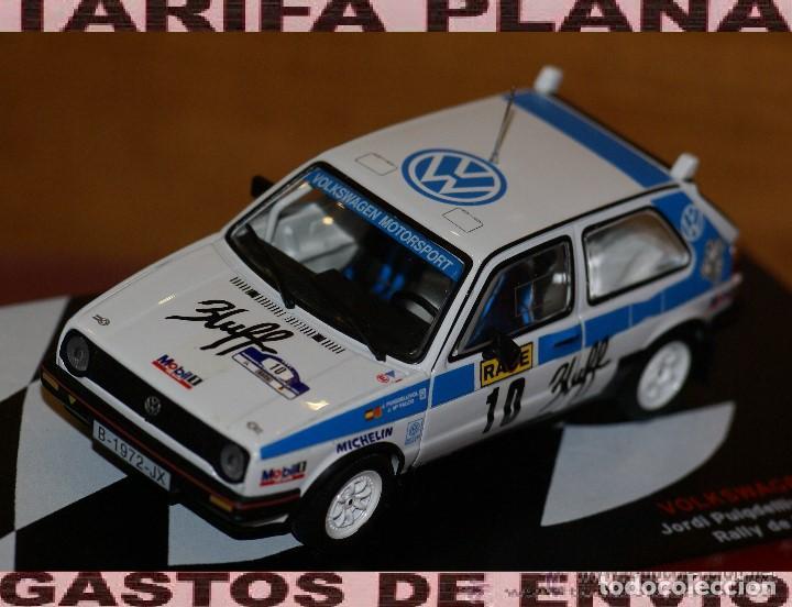 VOLKSWAGEN GOLF GTI 16V RALLYE DE TIERRA DE BALAGUER 1991 JORDI PUIGDELLIVOL - JOSEP MARIA FALCO ESC (Juguetes - Coches a Escala 1:43 Otras Marcas)