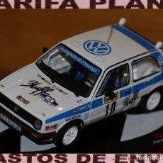 Coches a escala: VOLKSWAGEN GOLF GTI 16V RALLYE DE TIERRA DE BALAGUER 1991 JORDI PUIGDELLIVOL - JOSEP MARIA FALCO ESC. Lote 142257962