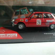 Coches a escala - RENAULT 5 TS, 1980, RALLY SHALYMAR, CARLOS SAINZ COLLECTION, 1/43, NUEVO - 144853350