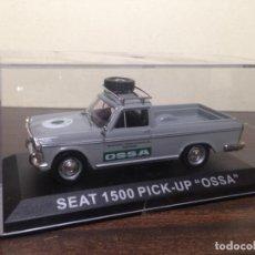 Model Cars - COCHE FURGONETA ESCALA 1:43 ALTAYA SEAT 1500 PICK UP OSSA. NUEVO EN CAJA ORIGINAL - 143180306