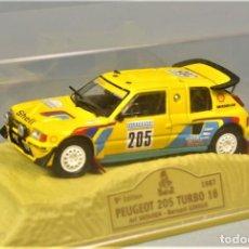 Modellautos - NOREV 1/43 PEUGEOT 205 TURBO 16 1987 Rally DAKAR VATANEN/GIRAUD 1:43 Esc 1/43 Nuevo en Caja Original - 143186962