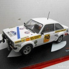 Model Cars - 2394 COCHE FORD ESCORT RS 1800 BENY FERNANDEZ DOURAL RALLY COSTA BRAVA 1977 1/43 - 143675558
