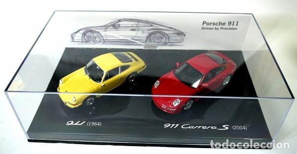 Coches a escala: SET DE COCHES PORSCHE 911 1964 Y PORSCHE 911 CARRERA S 2004 , 1:43, NUEVO CON CAJA, WAP 020 SET 09 * - Foto 2 - 143695378