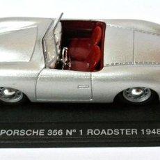 Coches a escala: COCHE PORSCHE 356 Nº 1 ROADSTER 1948 ,DEAGOSTINI, NO A SIDO RODADO , CON PEANA BASE *. Lote 143710630