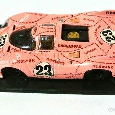 Coches a escala: PORSCHE 917/20 TEAM MARTINI RACING PINK PIG Nº 23 ,24H LE MANS 1971, DEAGOSTINI. Lote 143731442