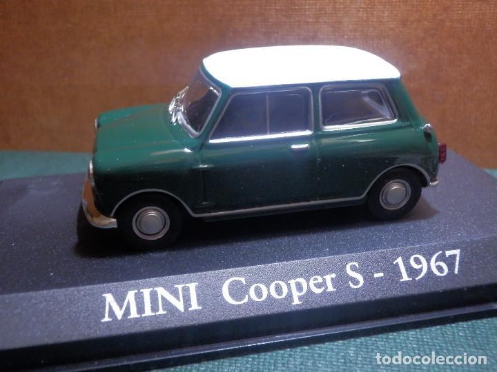 Coches a escala: COCHE METÁLICO A ESCALA 1: 43 - Mini Cooper S - 1957 - CON URNA-CAJA ORIGINAL - - Foto 6 - 143903094