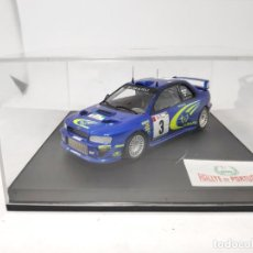 Model Cars - SUBARU IMPREZA WRC BURNS RALLYE DE PORTUGAL 1º 2000 TROFEU ESCALA 1/43 - 143960086