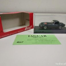 Coches a escala: J- COCHE JAGUAR TIPO E HARD TOP GREEN MODEL BEST COLECCIONISTAS ITALY NUEVO. Lote 179345528