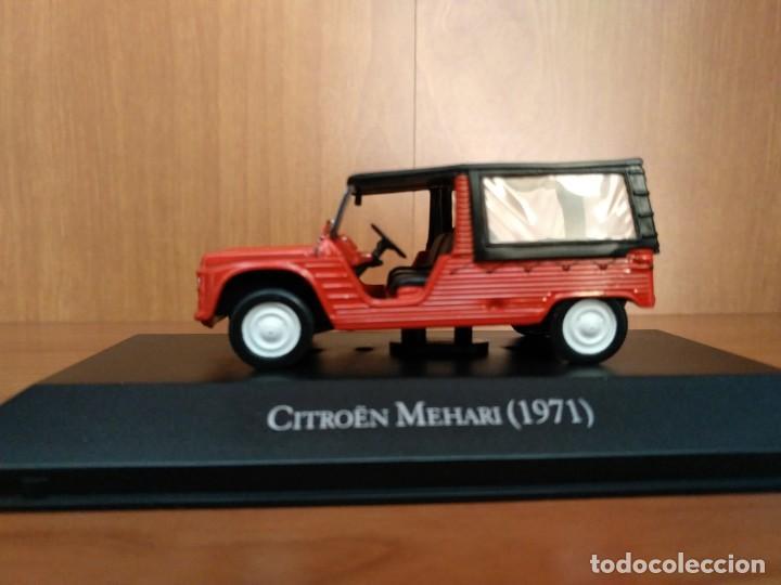 Citroen Mehari rot 1971 Blister 1:43 Salvat Ixo Modellauto