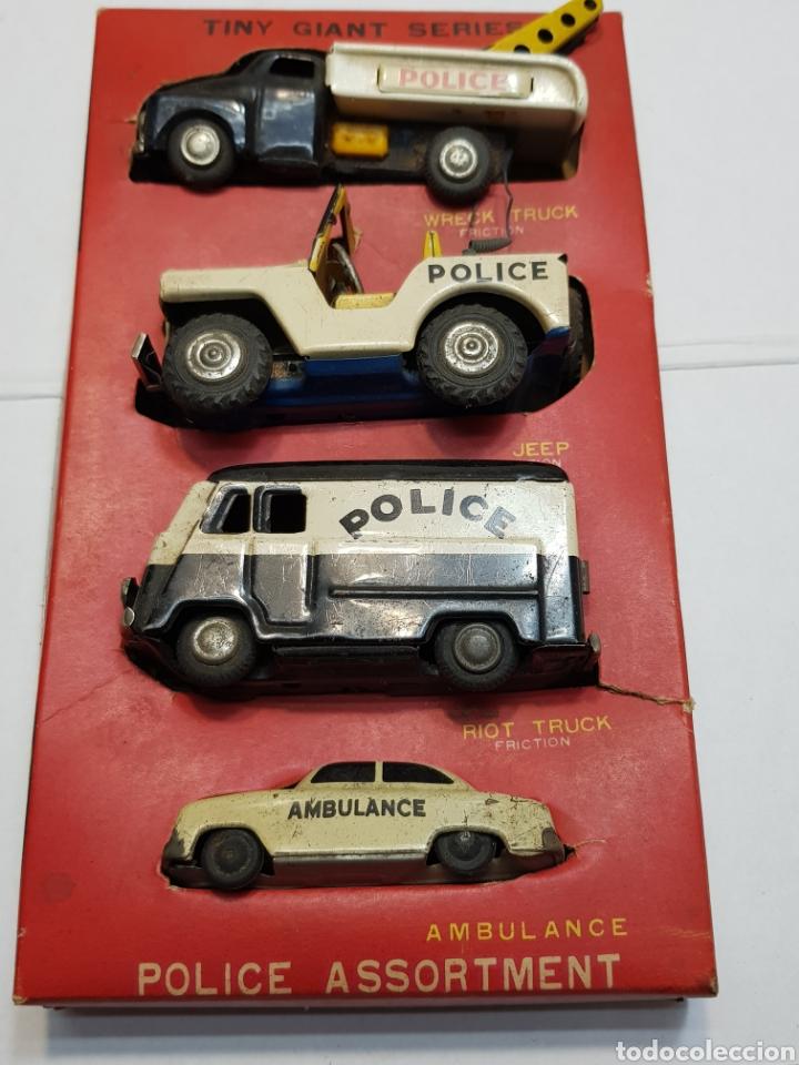 De Fricción Único Metálicos Toys Completo Coches Blister Raro Tiny Giant Tc En A4R3jL5
