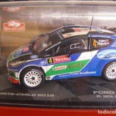 Coches a escala - 1/43 FORD FIESTA RS WRC DE P. SOLBERG, NUEVA COLECCION RALLY MONTECARLO ITALIA, EAGLE MOSS ALTAYA. - 145726374