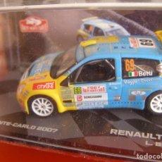 Model Cars - 1/43 RENAULT CLIO S1600 DE L. BETTI, NUEVA COLECCION RALLY MONTECARLO ITALIA, EAGLE MOSS ALTAYA. - 145727814