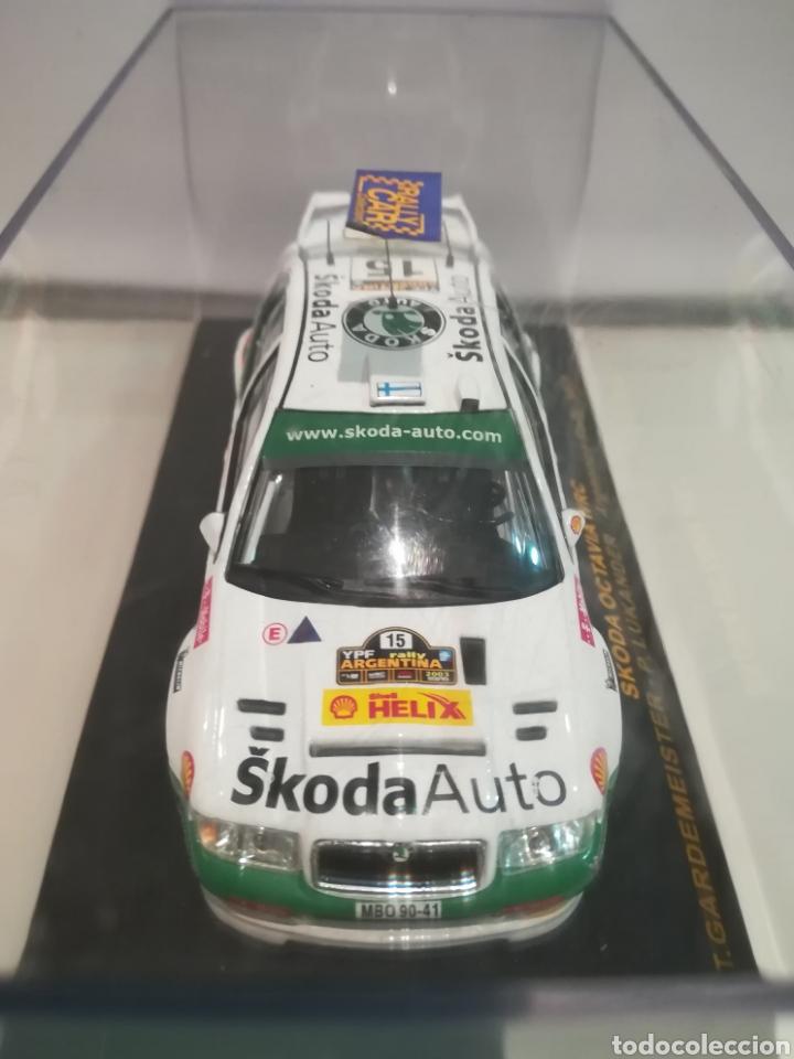 Coches a escala: Skoda Octavia WRC, Tony Gardemeister , rally Argentina 2003, Ixo altaya - Foto 3 - 146595965