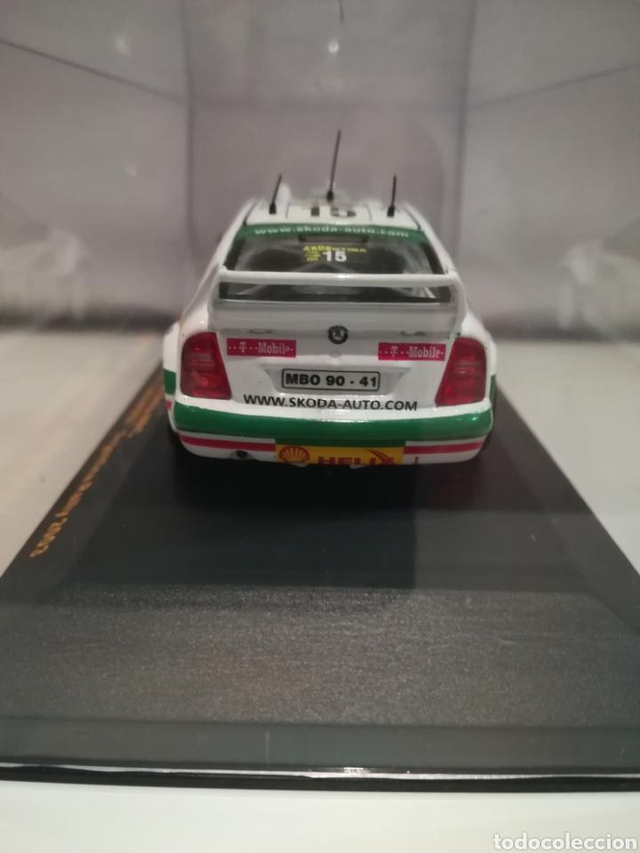 Coches a escala: Skoda Octavia WRC, Tony Gardemeister , rally Argentina 2003, Ixo altaya - Foto 4 - 146595965