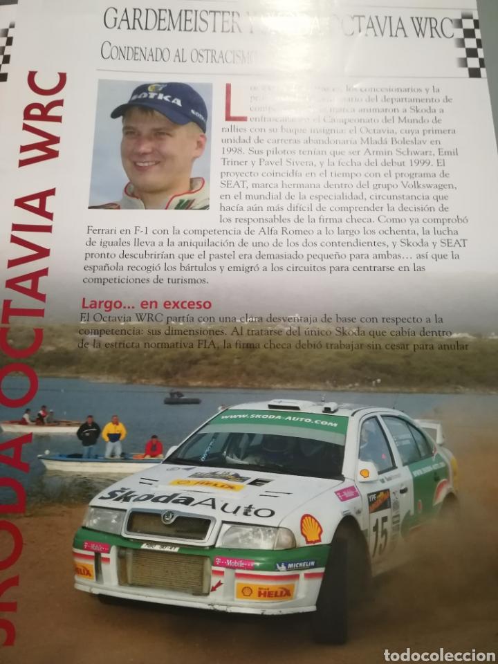 Coches a escala: Skoda Octavia WRC, Tony Gardemeister , rally Argentina 2003, Ixo altaya - Foto 5 - 146595965