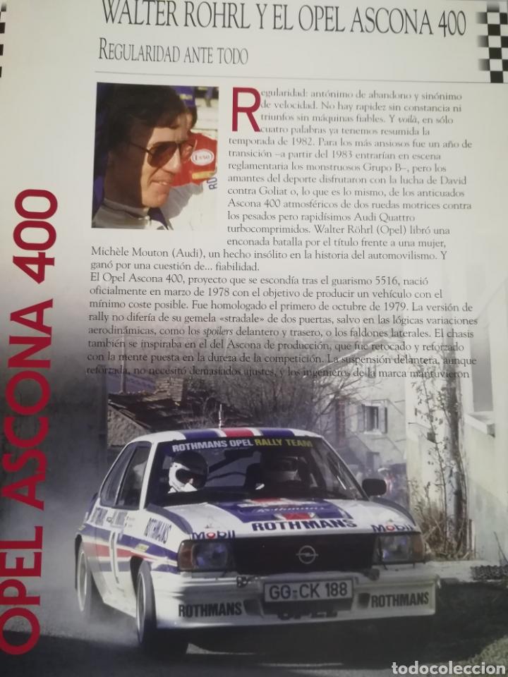 Coches a escala: Opel Ascona 400, Walter Rohrl, Rally Monte Carlo 1982, Ixo-altaya - Foto 5 - 146596532
