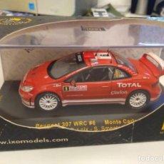 Coches a escala: PEUGEOT 307 WRC RALLY MONTE CARLO. Lote 146607378