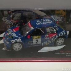 Coches a escala - Peugeot 306 Maxi, Jaime Azcona, Rallye de Avilés 1997,Ixo-altaya - 146811697