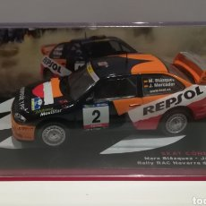 Coches a escala: SEAT CÓRDOBA WRC, MARC BLAZQUEZ, RALLY RAC NAVARRA DE TIERRA 2001, IXO ALTAYA. Lote 147103822