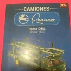 Coches a escala: FASCÍCULO PEGASO 1060L TRADISA(1970) - COLECCIÓN CAMIONES PEGASO SALVAT. Lote 147456030