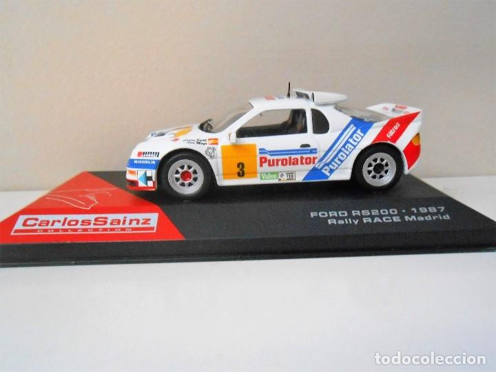 Coche Madrid 1987 Car Race 1 Carlos Rs 143 Rally 2412 Ford Sainz 43 200 Rs200 uOPZXik