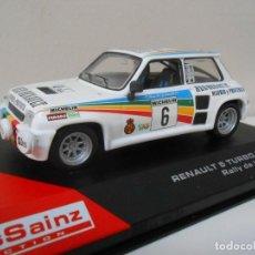 Model Cars - 2408 COCHE RENAULT 5 TURBO 2 1983 CARLOS SAINZ MODEL CAR 1/43 1:43 RALLY RALLYE - 147473478
