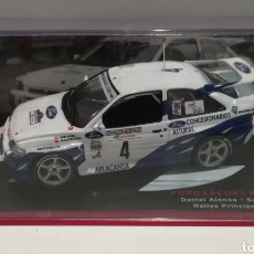 Coches a escala: FORD ESCORT RS COSWORTH, DANIEL ALONSO, RALLY PRÍNCIPE DE ASTURIAS 1993,IXO-ALTAYA. Lote 147548792