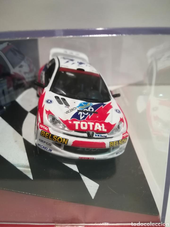Coches a escala: Peugeot 206 WRC, Luís Monzon, Rally Príncipe de Asturias 1993, Ixo-altaya - Foto 2 - 147550665