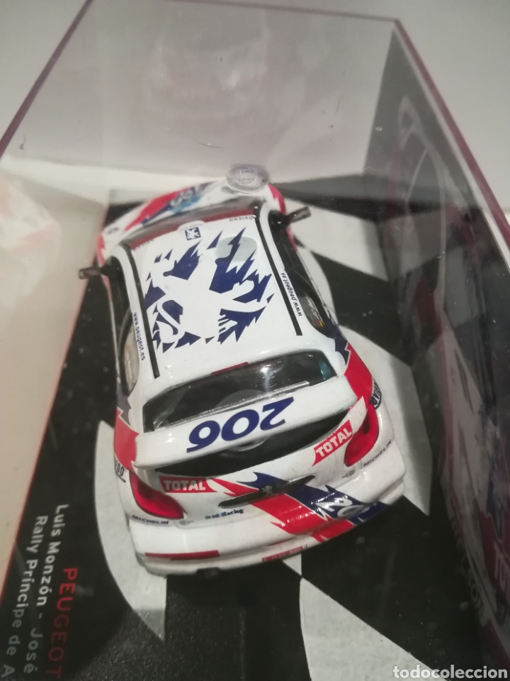 Coches a escala: Peugeot 206 WRC, Luís Monzon, Rally Príncipe de Asturias 1993, Ixo-altaya - Foto 4 - 147550665