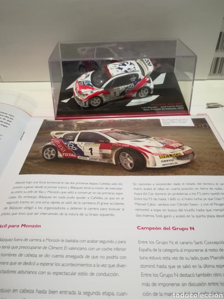 Coches a escala: Peugeot 206 WRC, Luís Monzon, Rally Príncipe de Asturias 1993, Ixo-altaya - Foto 5 - 147550665
