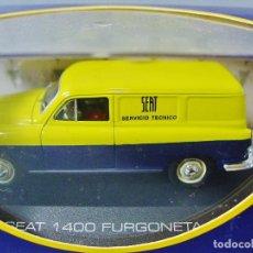 Model Cars - SEAT 1400 FURGONETA. SERVICIO TÉCNICO. ALTAYA. EDICIÓN ABONADOS. NUEVO EN SU CAJA Y FUNDA. - 148264266