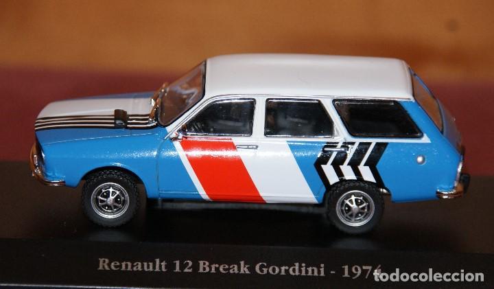 Coches a escala: RENAULT 12 break gordini 1974 ESCALA 1:43 DE ATLAS EN SU CAJA - Foto 2 - 148305570