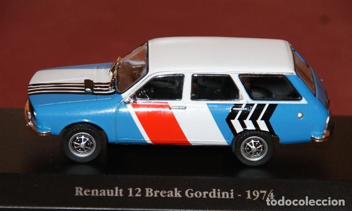 Coches a escala: RENAULT 12 break gordini 1974 ESCALA 1:43 DE ATLAS EN SU CAJA - Foto 7 - 148305570