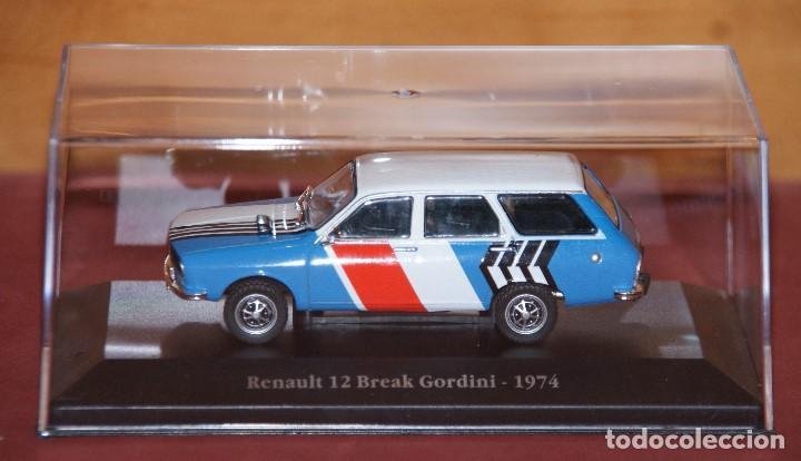 Coches a escala: RENAULT 12 break gordini 1974 ESCALA 1:43 DE ATLAS EN SU CAJA - Foto 8 - 148305570