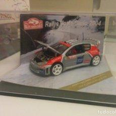 Coches a escala: PEUGEOT 206 WRC RALLY MONTE CARLO. Lote 148516706
